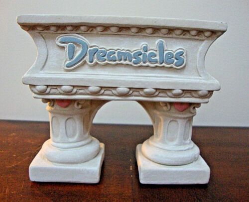 Dreamsicles Display Stand COLUMNED ARCH Pedestal Vintage 1996