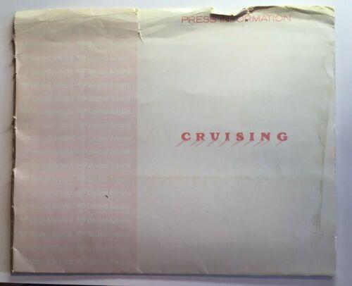 GAY INTEREST.  Partial press kit CRUISING 1980 Al Pacino - folder/photos/sheets