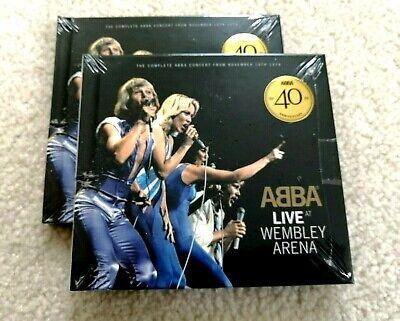 Live at Wembley Arena by ABBA (CD, Sep-2014, 2 Discs, Polydor) SEALED