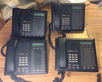 Lot Of 4 Comdial Impact 8024s-gt Office Phones Business Spearkphones Display