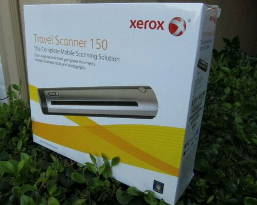 Xerox Travel Scanner 150 Mobile Sheetfed Scanner Gray XTRAVEL-SCAN150