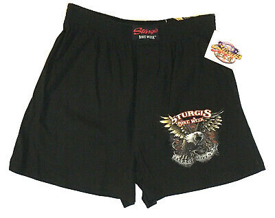 +NWT Sturgis Bike Week Small 28-30 Boxer Shorts Underwear  Bicycle Boxer Shorts
