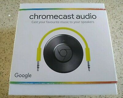 Google CHROMECAST AUDIO 2nd Generation Media Streamer- BOXED BRAND NEW