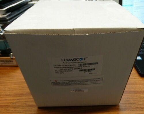 COMMSCOPE Andrew DAS Low PIM Omni MIMO In-building Antenna CMAX-OMF2-43-i53, NEW