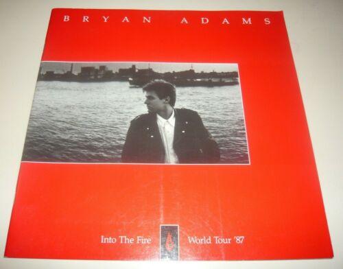 BRYAN ADAMS Into The Fire World Tour