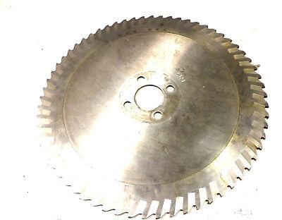 Metal Circular Saw Blade Hss 12 1332in X 5 Z 64 Von Wmw Reground L7395
