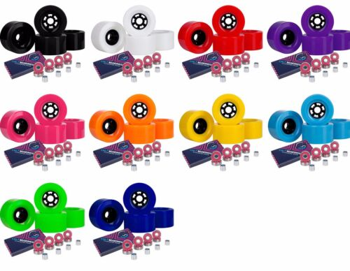 Cal 7 97mm 78a Longboard  Multiple Color Wheels Free Sets ABEC-7 Bearings