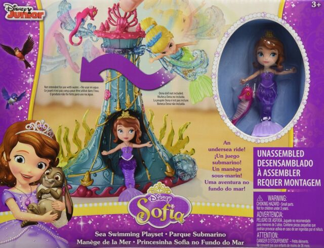 NEW Disney Sofia The First Sea Swimming Toy Gift Playset