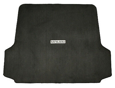 - New Logo Reversible Rear Trunk Mat Floor Carpeted Black Cargo For Chevy Malibu