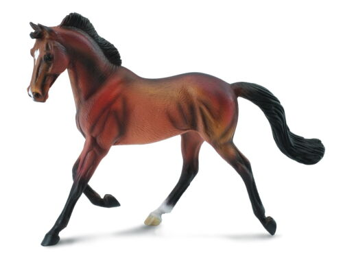 <><  Breyer CollectA 88477 Thoroughbred mare horse  bay well made