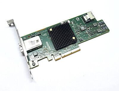 LSI 9207-4i4e 6G PCIe x8 3.0 Gebraucht SAS SATA HBA IT Mode FreeNas Avago