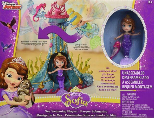 LOT 38974   Mattel Disney's Sofia die Erste - Meeres-Karussell Spielset NEU OVP