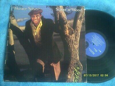 HORACE SILVER-SILVER 'N' WOOD 1976 BLUE NOTE JAZZ LP