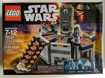 LEGO 75137 Star Wars ~ Carbon-Freezing Chamber ~ Sealed, damaged box