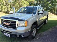 2007 GMC Sierra HD 2500 V8 Turbo Diesel Extended Cab Ute Mapleton Maroochydore Area Preview