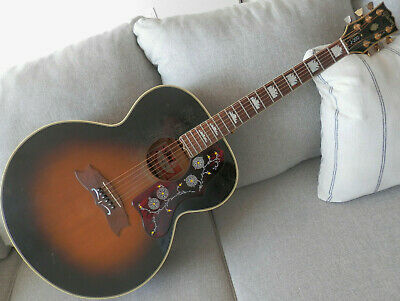 1979 Gibson J-200 guitar with case..The flagship of the Gibson line of guitars
