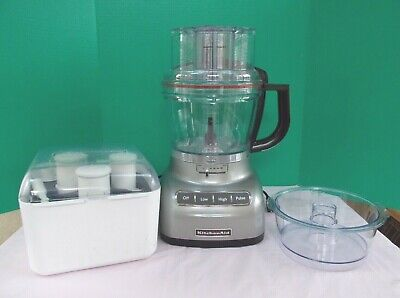 Kitchen Aid Food Processor Model #KFP 1333 With Instructions Plus 12 Accessories