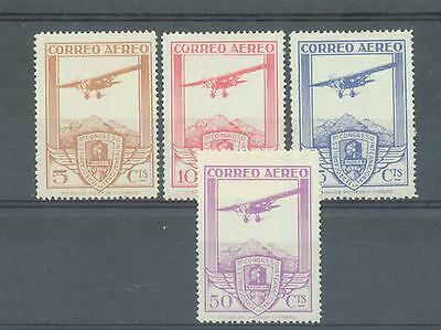 Spain 1930 Railway Congress sg.547-50 MH