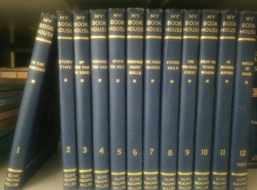 My Book House Complete 12 Volume Set. By Oliver Baupre Miller 1937 - $55.00