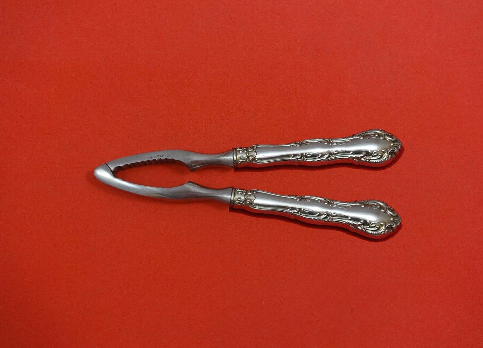 Rose Point by Wallace Sterling Silver Nut Cracker HHWS  Custom Made 7 1//4/""