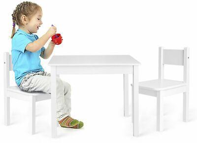 Kindertisch Tisch und Stühle für kinder weiß Yeti