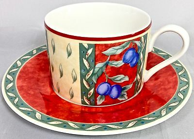 INTERIORS PTS PROVENCE At once Coffee Cup & Saucer Ivory Porcelain 1997-2001