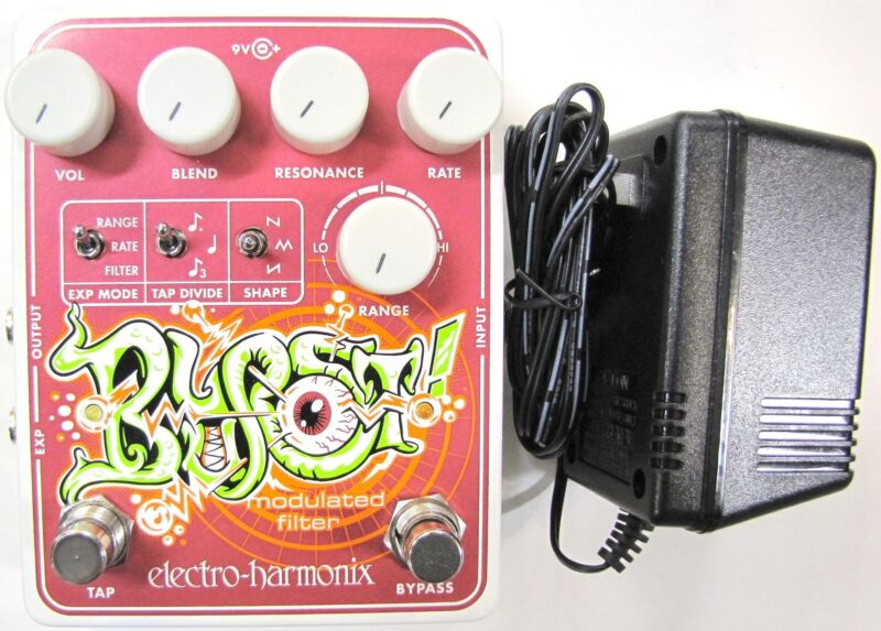 Used Electro-Harmonix EHX Blurst Modulated Filter Guitar Effects Pedal