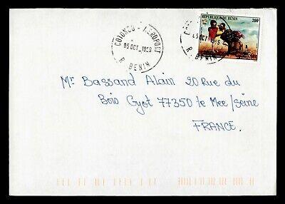 DR WHO 1999 BENIN COTONOU TO FRANCE  g16547