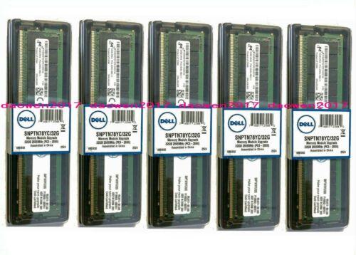 NEW Dell SNPTN78YC/32G A9781929 32GB 2RX4 DDR4 PC4-2666 ECC Server RAM Memory
