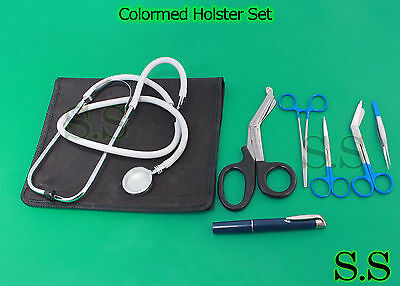 Colormed Holster Set Ems Emt Diagnostic Surgical Inst Ds-777