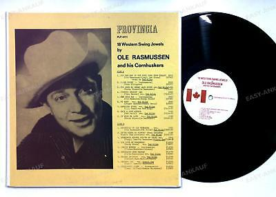 Ole Rasmussen And His Cornhuskers - 18 Western Swing Jewels By CAN LP /3