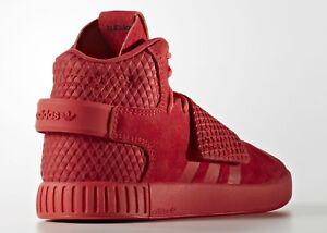 Adidas Tubular Invader Triple Red