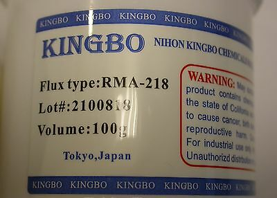 Original Brand New Kingbo Reballing Soldering Flux Paste Rma-218 100g