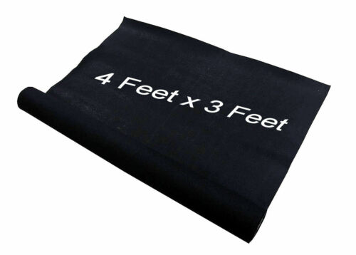 3 Feet x 4 Feet Black Car Sub Woofer Speaker Box Carpet Trunk Liner Subwoofer