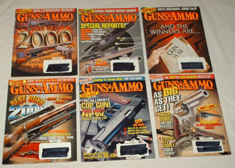 Guns & Ammo Magazine 2000 12 Issues