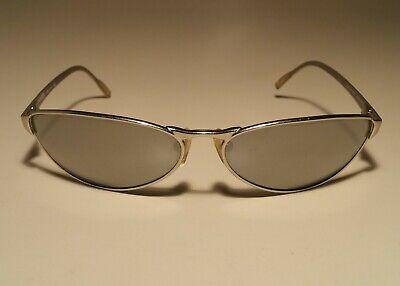 ARNETTE Steel Swinger 3002-504/6G Silver Sunglasses RARE (Swinger Arnette Sunglasses)