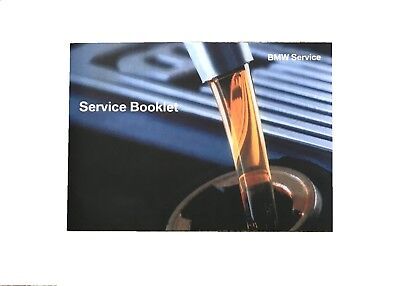 BMW Service Book Brand New for All Petrol and Diesel Models Cars