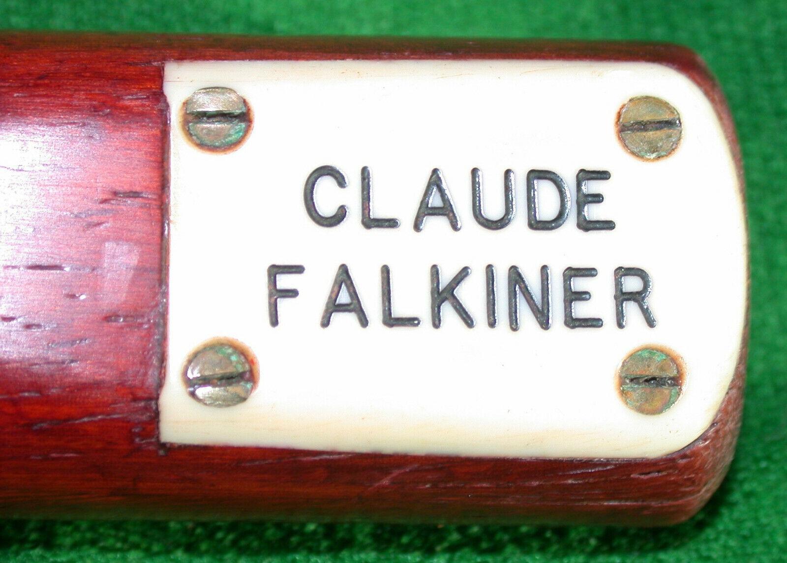 Claude Falkiner Hand Spliced One Piece Ash Snooker Cue