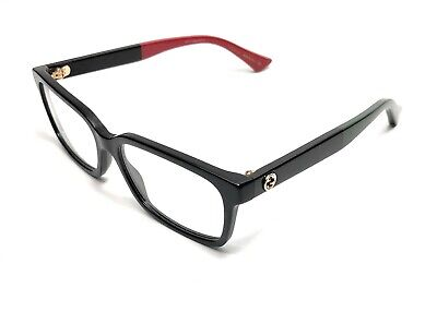 New Gucci GG 0168-O 007 Black Women's Authentic Eyeglasses Frame (Gucci Frames For Women)