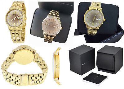 Marc By Marc Jacobs Women's MBM3429 Fergus Gold-Tone Stainless Steel Watch