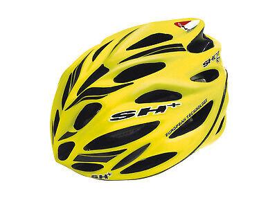 Casco Sh+ Shot R1 Profesional de Ciclismo Carbono Fluor Amarillo Italia 6085am