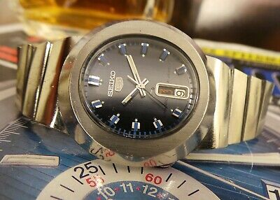 SEIKO 6119-5450 AUTOMATIC GENTS VINTAGE WATCH c1980's-RARE!