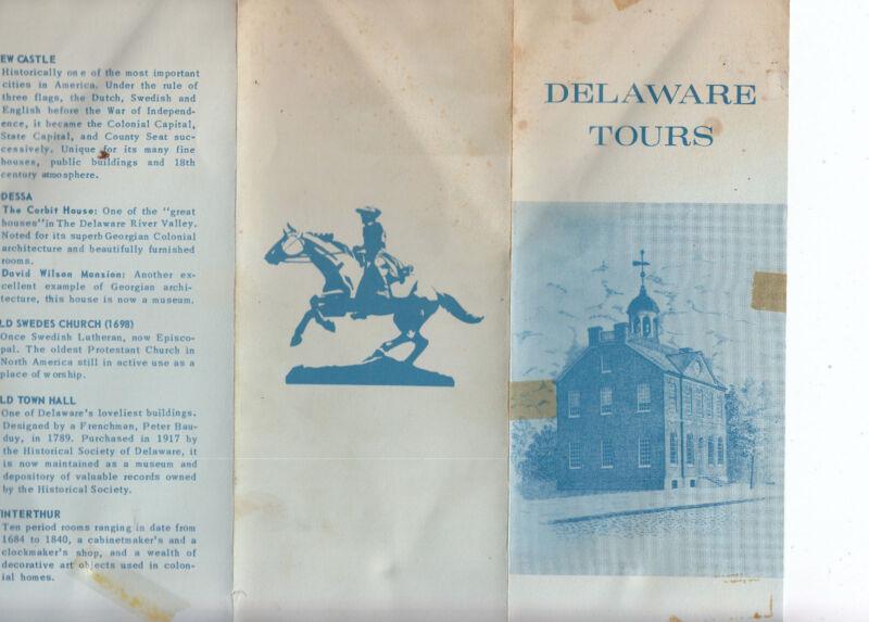 Delaware Tours 1960's  Winterthur Longwood Gardens