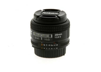 Nikon AF Nikkor 28mm f2.8D - FX - Full Frame Lens Ashfield Ashfield Area Preview