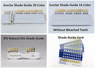 Vita Dental Teeth Shade Guide Ivoclar Vivadent A-d 1620color Porcelain Material