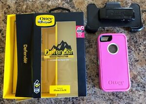Otterbox Defender Pink Case iPhone 5/5S/SE New In Box