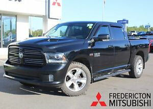 2013 RAM 1500 Sport CREW | HEATED/COOLED LEATHER | NAV | SUNROOF