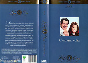 C-039-ERA-UNA-VOLTA-1967-VHS-Cecchi-Gori-Gli-Ori-Sophia-Loren-Omar-Sharif