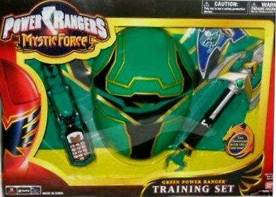 Power Rangers Mystic Force Green Training Set New 9