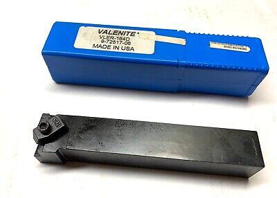 Valenite Indexable Tool Holder - Vler-164d - 6 Oal - 1 Shank - New